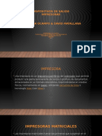 Dispositivos de Salida - Impresoras pp