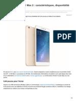 Frandroid.com-Xiaomi Dévoile Le Mi Max 2 Nbspcaractéristiques Disponibilité Et Prix (1)