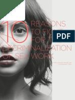 10reasons for Decriminalize Sex Work