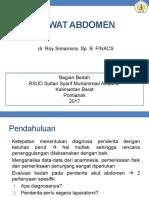 3388_gawat Abdomen - Dr Roy