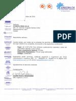 Condiciones Comerciales CL DESA005