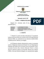 Tribunal de Bogotá rechaza tutela de Peñalosa contra el CNE