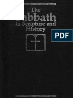The Sabbath in the Scripture and History, Kenneth a. Strand