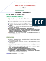 NATURALES-2DO GRDO 2017 - SECUENCIA DIDACTICA UNIDAD DIAGNOSTICA.docx