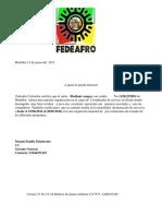 Carta Laboral Servicio Al Cliente