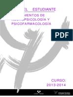 PROGRAMA de LA ASIGNATURA Fundamentos de Neuropsicología y Psicofarmacología