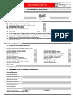 Formato de Desarmado Motor Isx15 - Qsx15