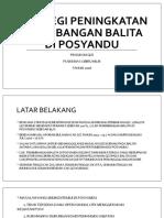 StrategI Peningkatan Penimbangan Balita Di Posyandu.yennypptx