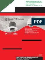 camara PTZ BOLIDE SPDN100