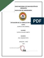 Situación de La Cebolla en Arequipa