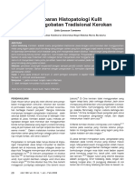 Gambaran Histologi Kulit pada Pengobatan Tradisional Kerokan.pdf