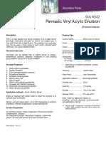 Permastic Vinyl Acrylic Emulsion