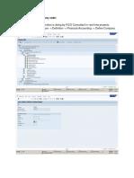 Configuration of PA