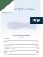 modern history professional task