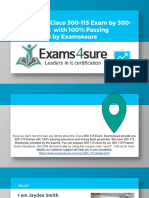 300-115 Dumps With 100% Passing Guarantee