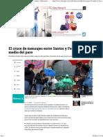 Declaraciones de Santos y Fecode Por El Paro de Docentes - Educación - Vida - ELTIEMPO