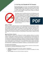 Día del No fumador.docx