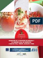 Recetario Tomate