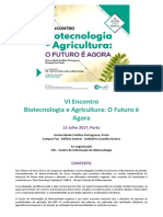 ProgramVIEncontro Agrobiotec CiB 13Julho2017