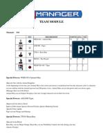 Exported Team equipo preparado de animal