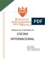 Manual Completo Cocina Internacional