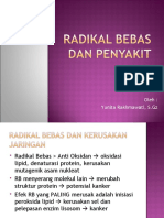 5. Radikal Bebas Dan Penyakit