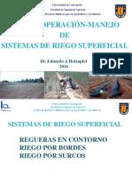 4. Riego Superficial INFILTRACION 2016