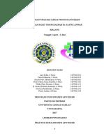 Laporan Praktek Kerja Profesi Apoteker Revisi Tanggal 7 Juni 2017