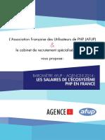 AFUP - Baromètre 2014