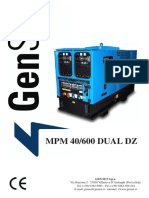 Genset MPM40-600 DUAL DZ ING