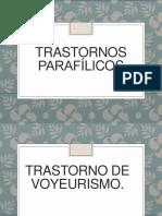 Transtornos parafilicos