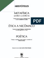 Aristoteles - Metafisica Etica a Nicomaco (Colecao Os Pens Adores)