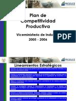 Plan de Competitividad