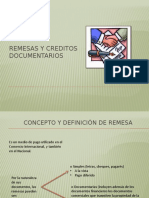 Remesas y Creditos Documentarios