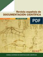 Revista Española de Documentación Cientifica. Vol. 35. Nro. 4