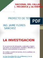 La Investigacion.1ra.clase Flores