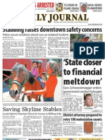 07-29-10 Issue of the Daily Journal