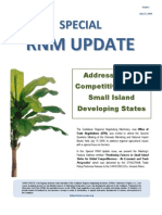 Special RNM Update (Addressing the Competitiveness of Small Island Developing States) 2009-07-17