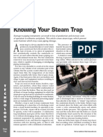 Knowing Your Steam Trap