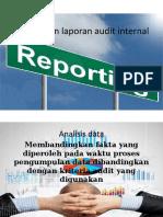 3.Pelaporan Hasil Audit Internal