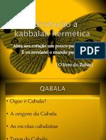 Curso - Indrotuação a Kabbalah