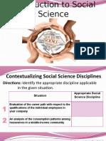 Define Social Science 2016