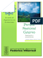 Informe Parque Nacional Cutervo