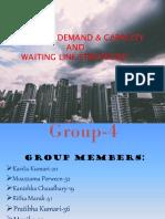 G-4, Managing Demand & Capacity and Waiting Line Strategies