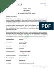 Ficha Tecnica Methomyl en Polvo