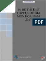 50 Đề Thi Thử THPT Quốc Gia Môn Hóa 2017 (Có Đáp Án Chi Tiết)