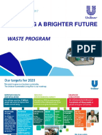 Program Bank Sampah Unilever - Sharing 2 October