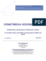 IADL UN Activities Bulletin April 2017