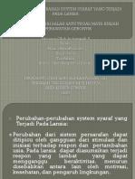 Fix Perubahan-perubahan System Syaraf Yang Terjadi Pada Lansia-1