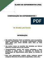 Comparação de Experimentos e Teste de Student